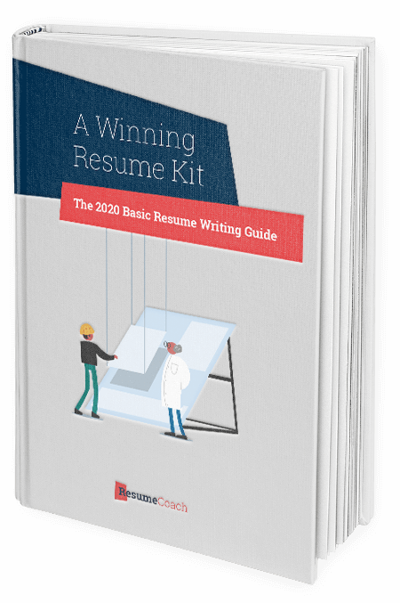 A winning resume kit book - ResumeCoach