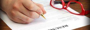 resume writing checklist 1