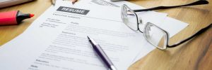 how to start a resume